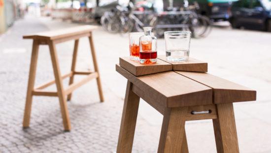 standing bench, highbench, high bench, taburete, wooden highbench, wood, high stool, banco alto de bar, apero bench